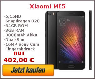 Xiaomi Mi 5 Kaufbanner