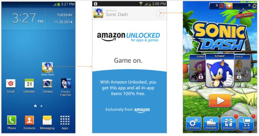Amazon: neue Pläne geleakt, In-App Flatrate für sogenannte Freemium-Apps