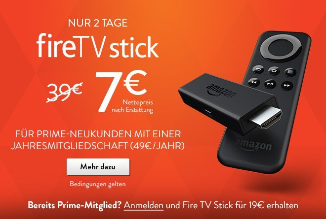 Amazon Fire Tv Stick Kosten