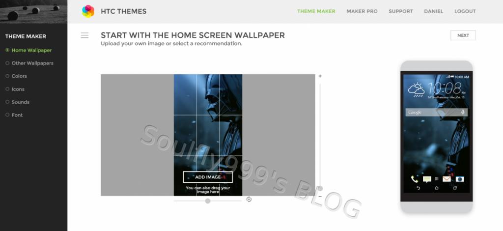HTC Thememaker Image