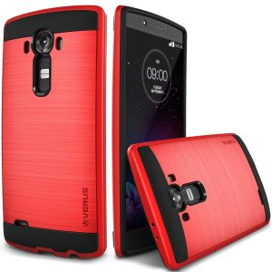 LG G4 Cover red