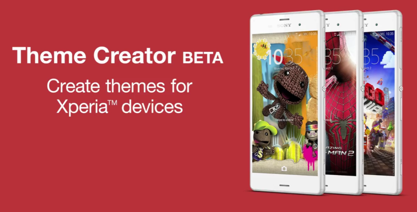 Sony: Theme Creator Betaversion für Xperia-Modelle veröffentlicht