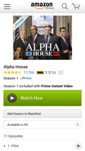 Amazon Prime Android App