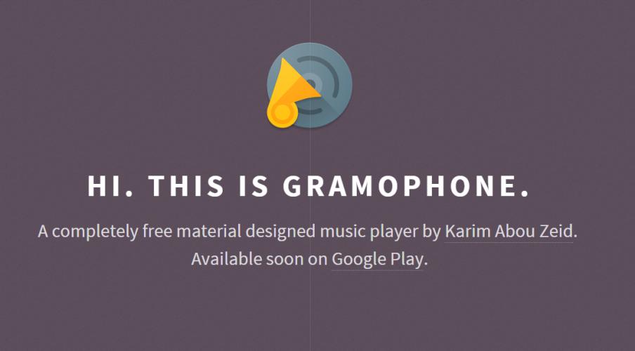 Appvorstellung: Gramophone [Beta] - neuer Musikplayer im Material Design 1