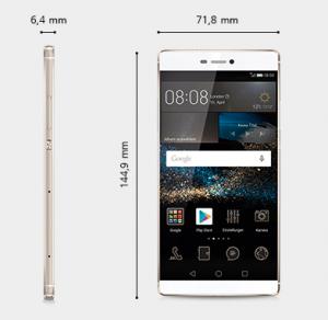 Huawei P8 Abmessung