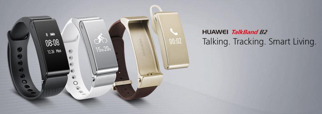 Huawei TalkBand B2 offiziell vorgestellt - Fitnesstracker und Headset in einem 1