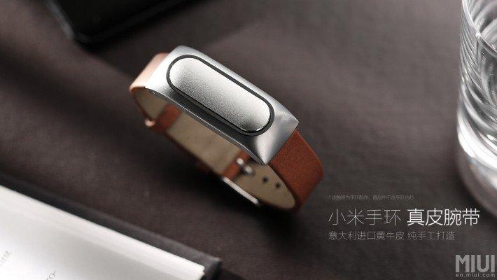 Neues Premium Lederarmband für Xiaomi's Mi Band Fitnesstracker jetzt erhältlich (Update 09.05.2015) 1