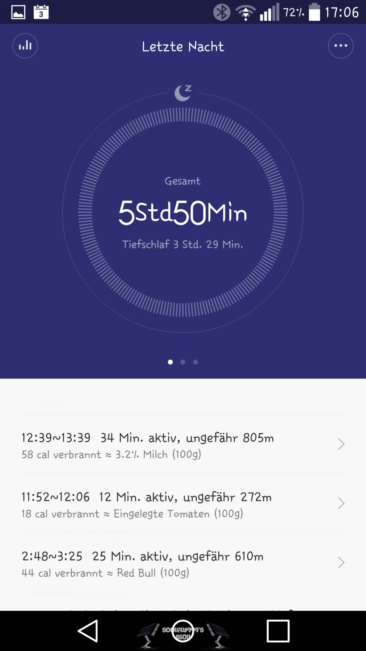 AndroidKosmos | Test / Review / Anleitung: Xiaomi Mi Band + Mi Band 1s und tweaked Mi Fit App 56