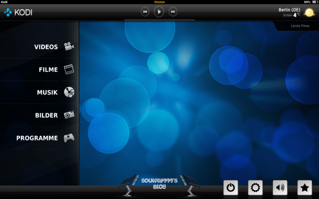 Kodi Android Re-Touch Theme