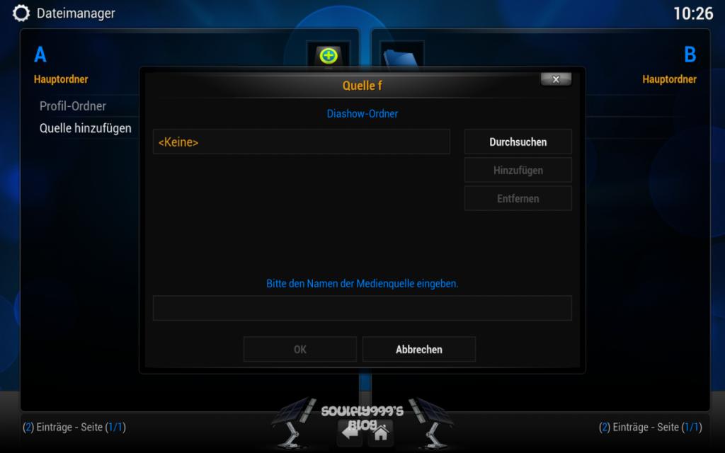 Kodi Android Quelle hinzufügen