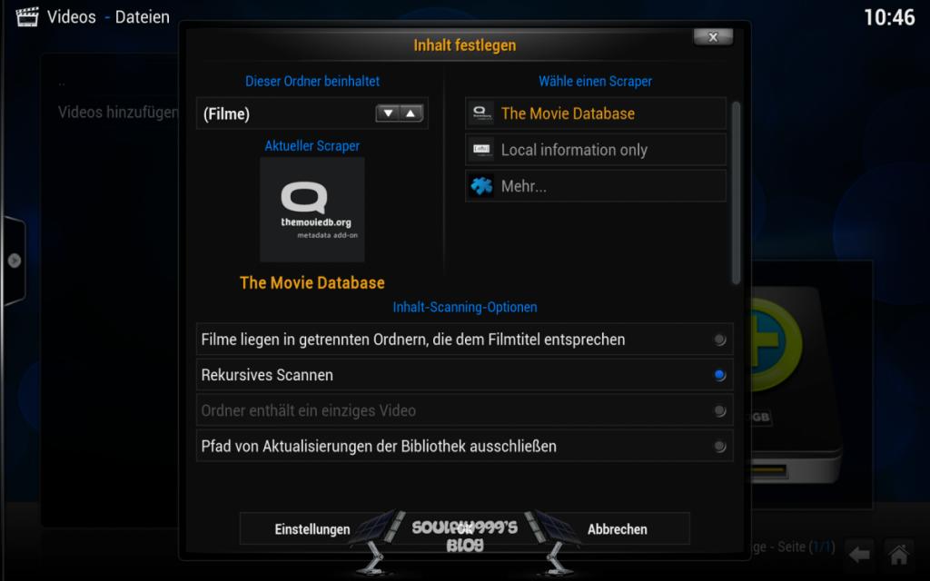 Kodi Android Filmscraper