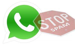WhatsApp Spam Header