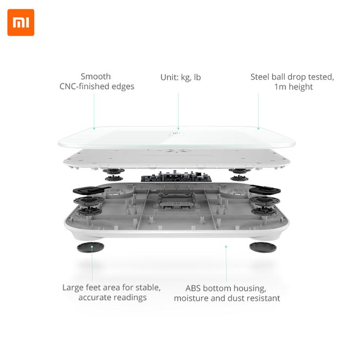Xiaomi hat seine eigene Waage Mi Smart Scale vorgestellt 3