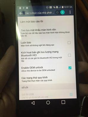 LG G4 bootloader unlock 2