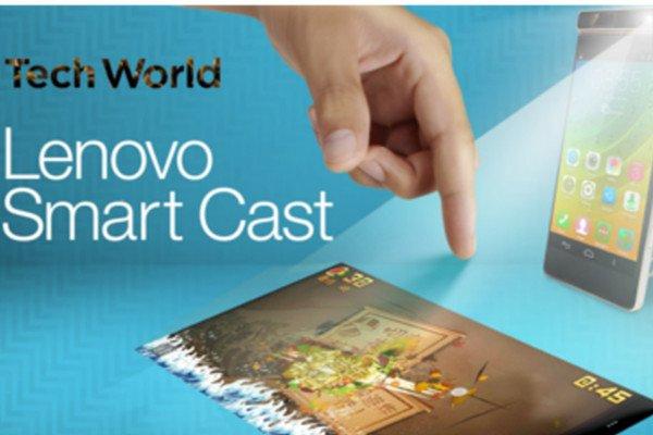 Lenovo Smart Cast: Neues Smartphone projiziert einen Touchscreen 1