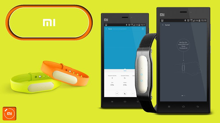AndroidKosmos | Test / Review / Anleitung: Xiaomi Mi Band + Mi Band 1s und tweaked Mi Fit App 1