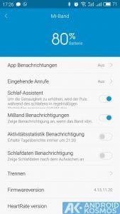 Xiaomi Mi Band 1s Test und Anleitung: Tracker mit über 30 Tagen Akkulaufzeit 12