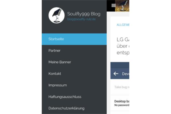 Soulfly999's Blog sollte jetzt mehr responsive und besser mobil nutzbar sein 1