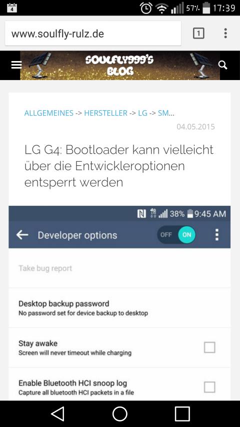 Soulfly999's Blog sollte jetzt mehr responsive und besser mobil nutzbar sein 2