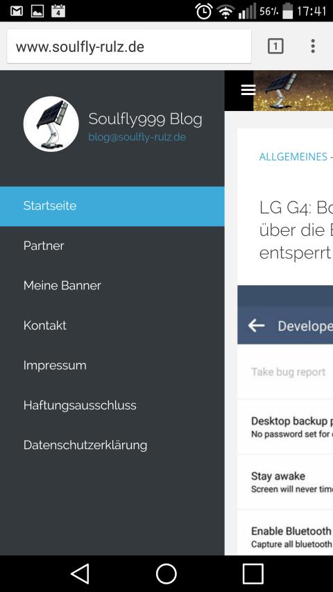 Soulfly999's Blog sollte jetzt mehr responsive und besser mobil nutzbar sein 4