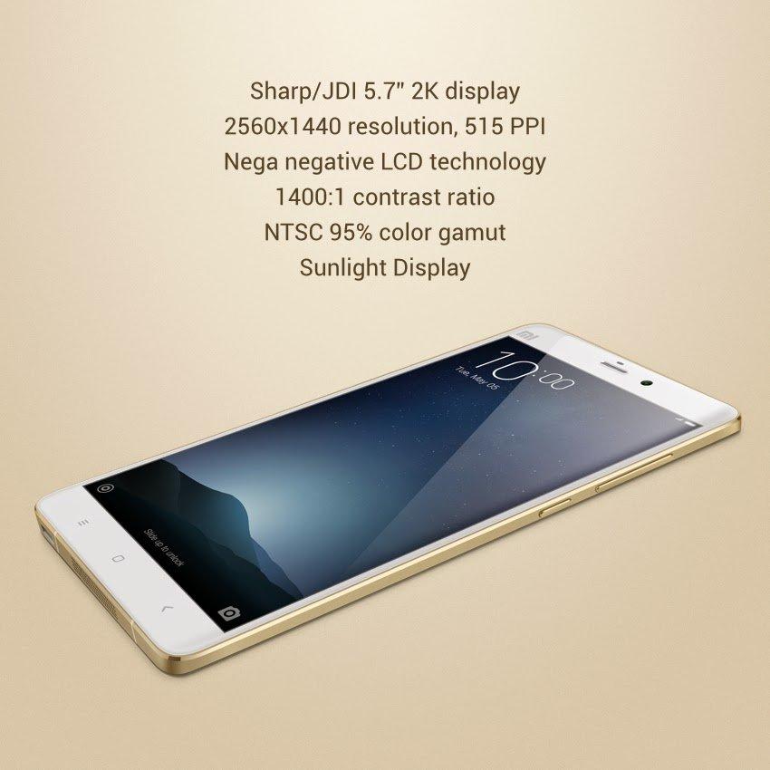 Xiaomi Mi Note Pro 5,7 Zoll Smartphone mit Snapdragon 810 Verkauf in Peking gestartet 2