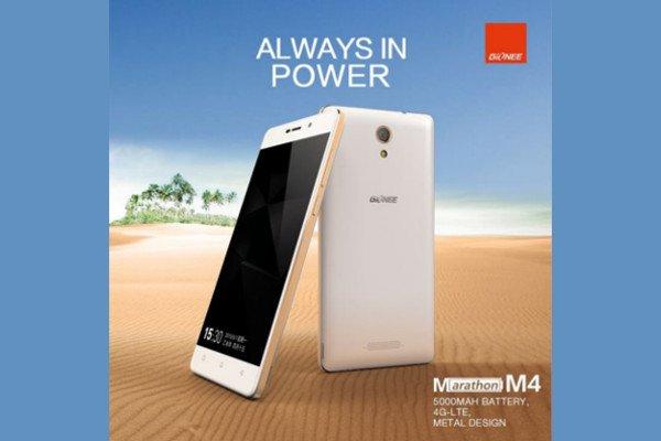 Gionee Marathon M4: Smartphone mit 5000mAh Akkukapazität und weitere Geräte 1