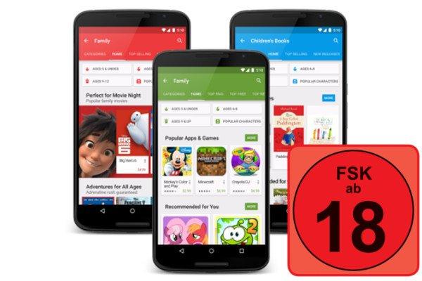 Anleitung: Im Google Play Store Jugendschutzeinstellungen vornehmen 4