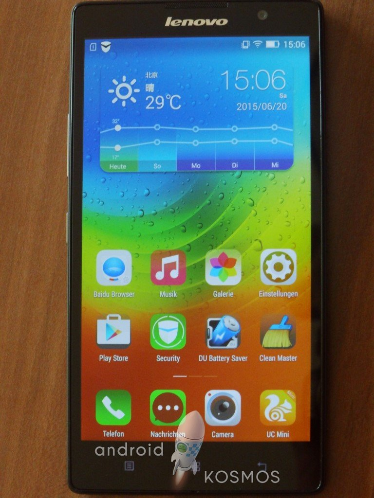"Test/Review: Lenovo K80 - 5,5 Zoll ""Super-Krieger"" Smartphone mit Atom Prozessor 4"
