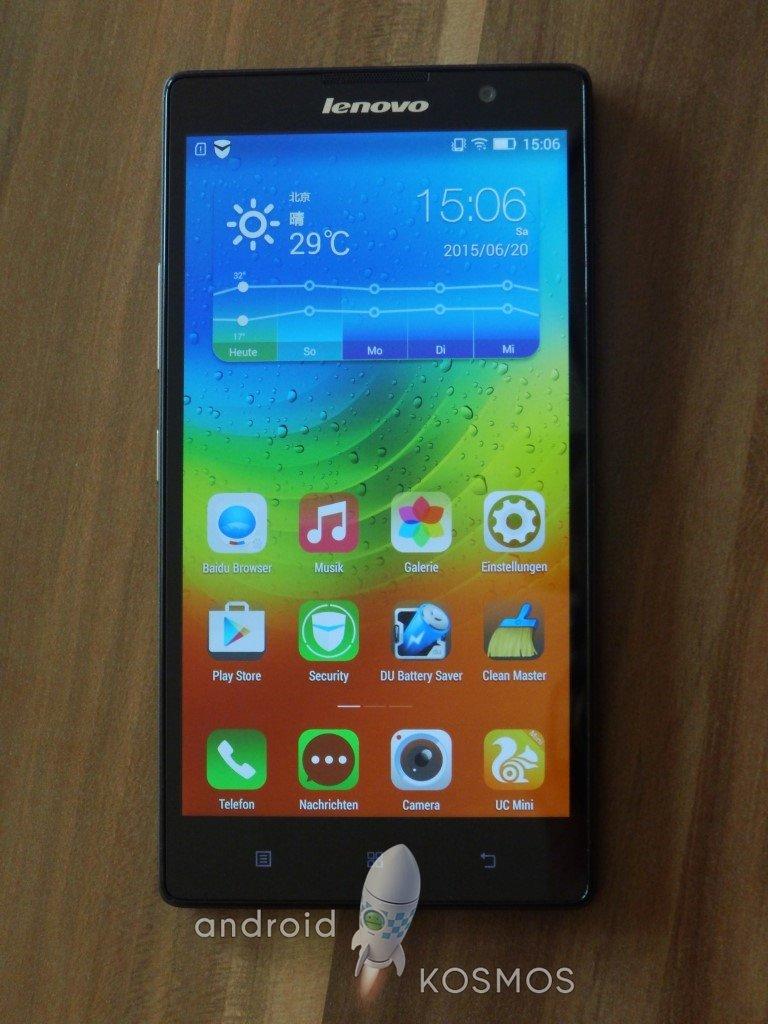 "Test/Review: Lenovo K80 - 5,5 Zoll ""Super-Krieger"" Smartphone mit Atom Prozessor 5"