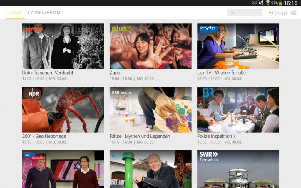Kabel Deutschland: drei Android Apps für mehr Komfort beim Fernsehen 2