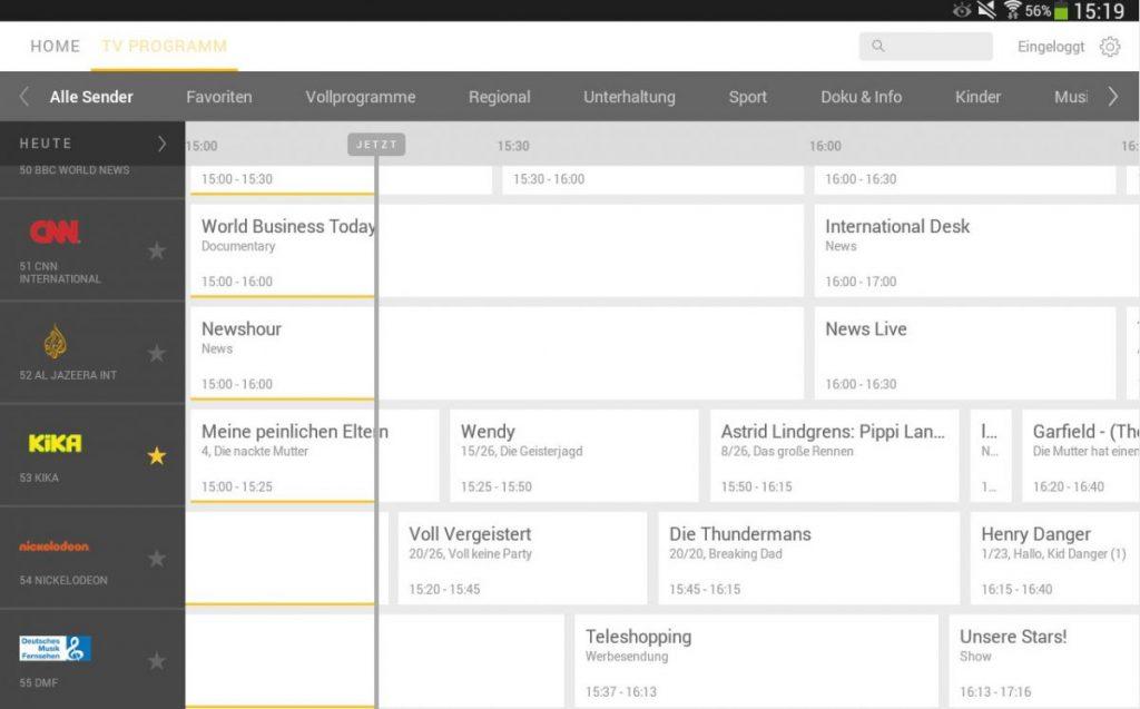 Kabel Deutschland: drei Android Apps für mehr Komfort beim Fernsehen 4
