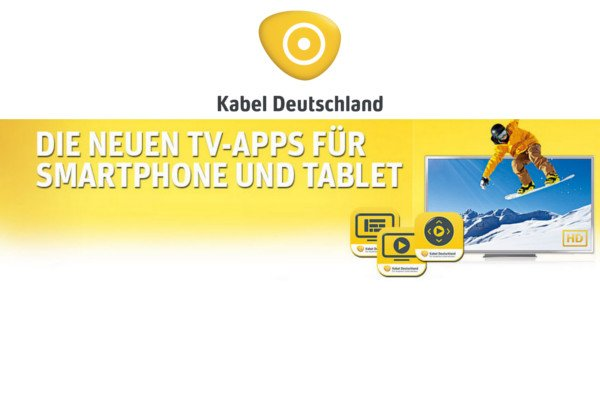 Kabel Deutschland: drei Android Apps für mehr Komfort beim Fernsehen 1