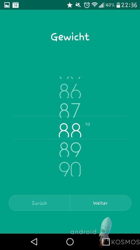Xiaomi Mi Smart Scale Test: Die smarte Waage von morgen 75
