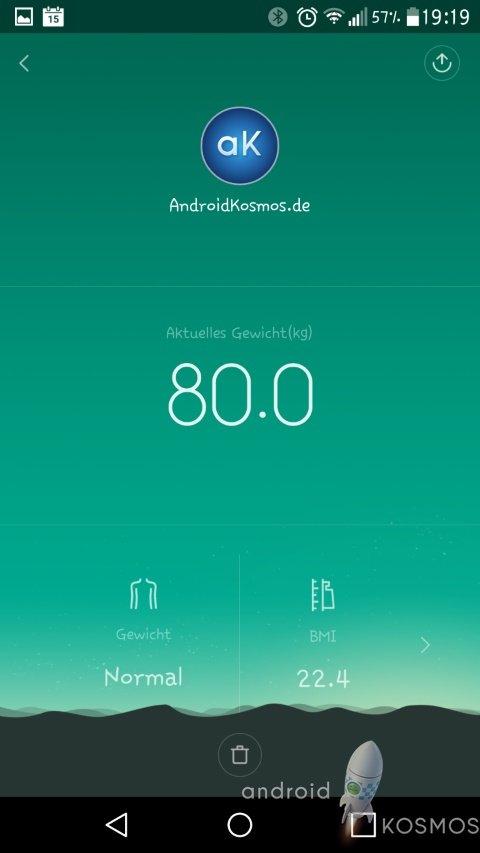 Xiaomi Mi Smart Scale Test: Die smarte Waage von morgen 58