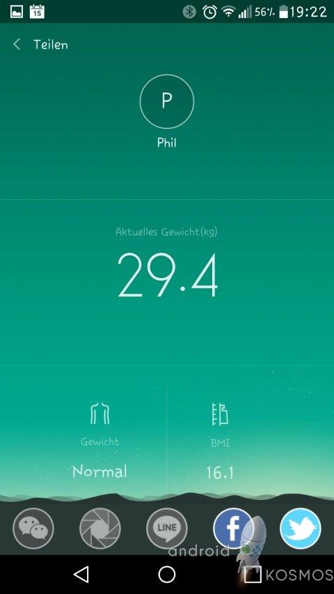 Xiaomi Mi Smart Scale Test: Die smarte Waage von morgen 60