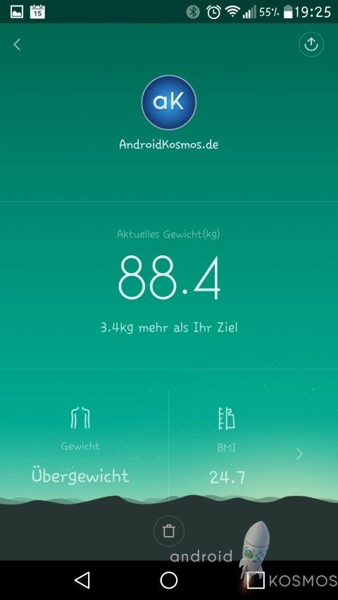 Xiaomi Mi Smart Scale Test: Die smarte Waage von morgen 50