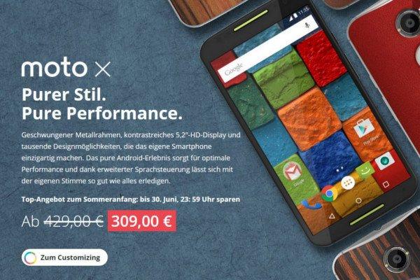 Motorola bietet Nexus 6 & Moto X 2. Generation 100 Euro günstiger an 1