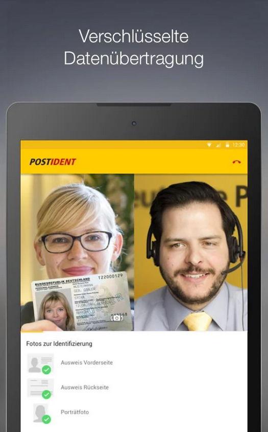 Deutsche Post: POSTIDENT jetzt mit Videochat via App möglich 3