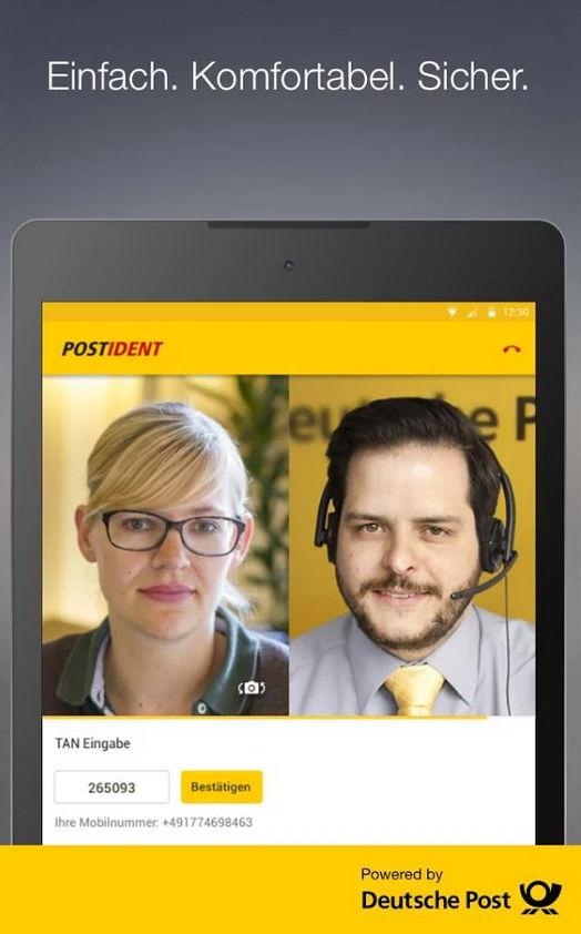 Deutsche Post: POSTIDENT jetzt mit Videochat via App möglich 4