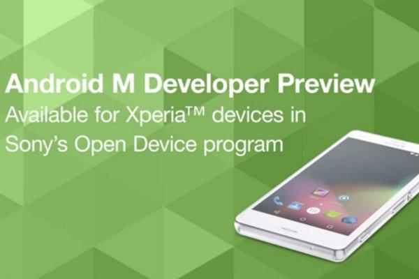 Sony Xperia: Android M Preview für Geräte verfügbar 1