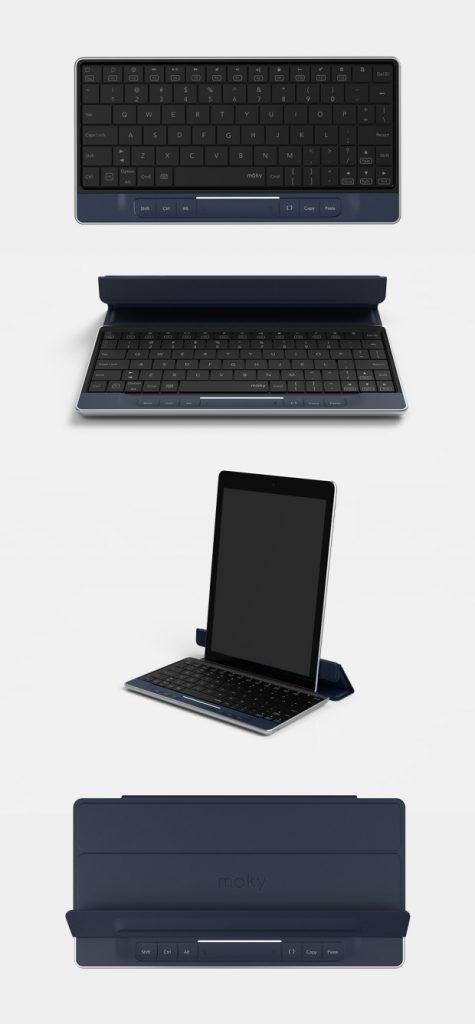 Indiegogo Crowdfunding-Projekt: Moky Tastatur mit integrierten Touchpad 7