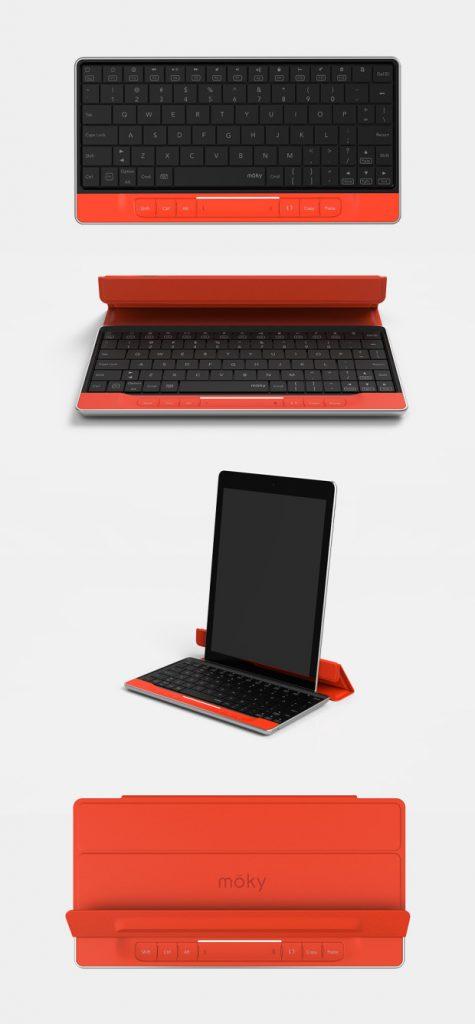 Indiegogo Crowdfunding-Projekt: Moky Tastatur mit integrierten Touchpad 8