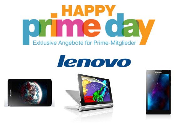 Amazon Prime Day: Heute Lenovo 5 Tablets im Angebot 1