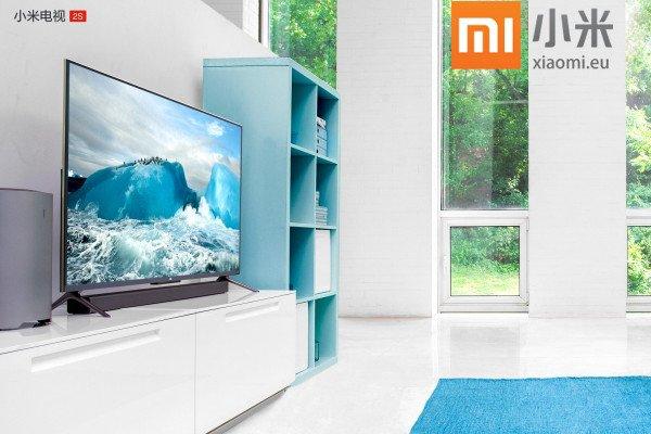 Xiaomi stellt den neuen ultra-dünnen 4K 48 Zoll Mi TV 2S Fernseher vor 1