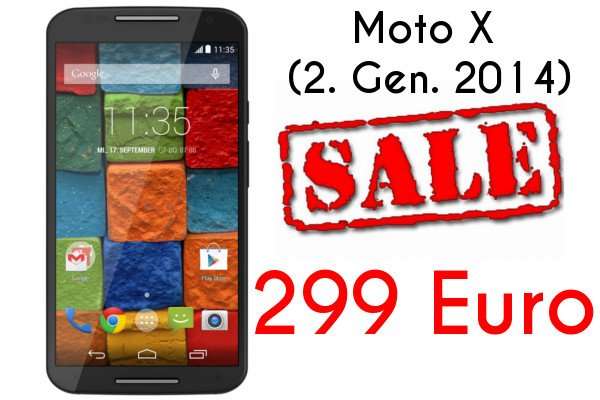 Amazon Prime Day Deal: Nur heute - Motorola Moto X 2. Generation für nur 299 EUR 1