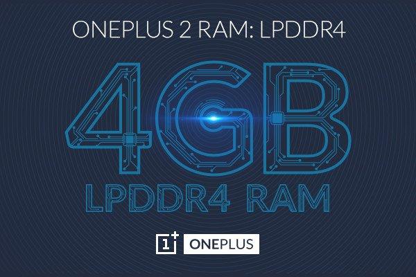 OnePlus2_4GB RAM