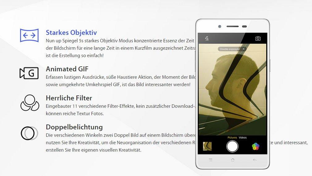 Oppo Mirro 5s - 5 Zoll Smartphone mit Snapdragon 420 offiziell vorgestellt 3