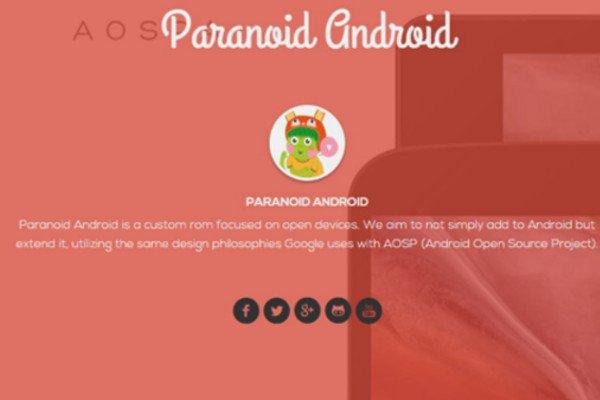 Paranoid Android veröffentlicht neuen Android Lollipop 5.1 Version 2
