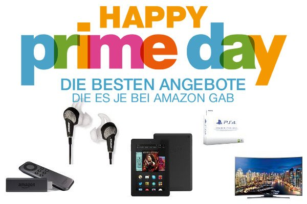 Amazon Prime Day: FireTV Stick 24€, FireHD7 79€, Playstation 4 uvm. 1