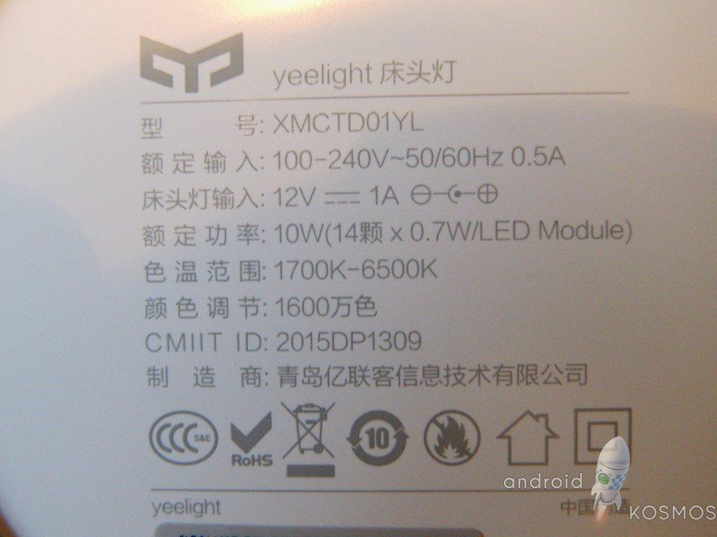 Xiaomi Yeelight Test: die Nachttischlampe mit 16 Millionen Farben und Appsteuerung 19